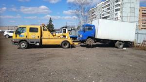 буксировка грузовиков частичная